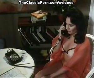 Veronica Hart, John Alderman, Samantha Fox in vintage xxx movie