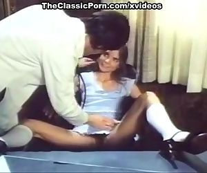 Angel West, Duane Thomas in horny doctor from a classic xxx film