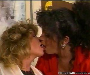 Tracey Adams classic busty lesbian sex