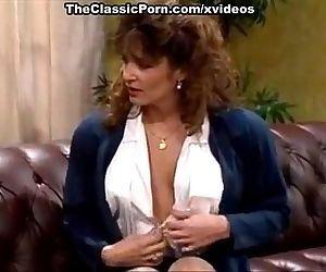 Bionca, Nikki Dial, Steve Drake in 80s porn girls finger each others shaved pus