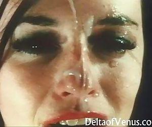 Vintage French POV PornDouble Blowjob & Fuck