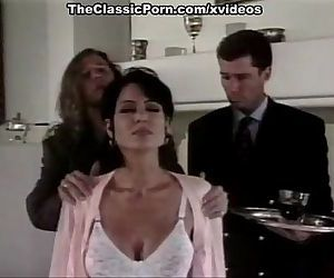 Amber Woods, Tom Byron, Marc Wallice in classic porn site
