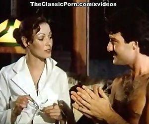 Annette Haven, Lisa De Leeuw, Paul Thomas in vintage xxx clip