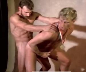 Vintage Porn Superstar Al Parker Fucks Leo Ford in GAMES
