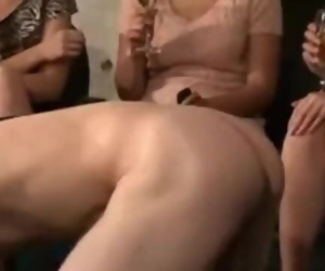 Submissive Bi Lad is Partys Guest of Honor