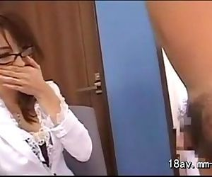 Japanese Hottie With Glasses Sucking And Fucking sexy hardcore porn - 30 min - 30 min