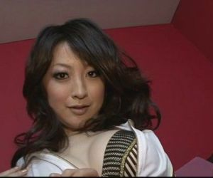 Brunette Asian girl Asuka Mimi fondled and fucked hard - 8 min