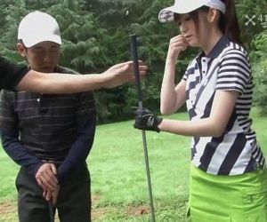 41Ticket - Michiru Tsukino Creampied by Golf Instructor - 5 min HD+