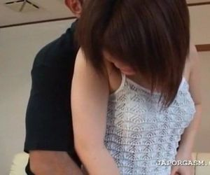 Seduced asian teen shows peachy twat in close-up - 5 min