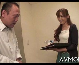 Lengthy hairy asian deepthroat act - 5 min