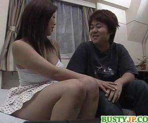Upskirt sex along milf Nana - 8 min