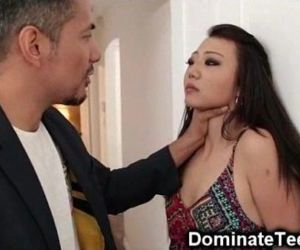 Asian Teen Gets Rough Punishment! - 3 min