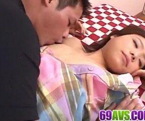 Miku Morimoto amazes with her tight Asian holes - 12 min
