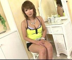 Akiho Nishimura gets nasty on a big cock - 37 min