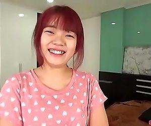 Petite Thai girl services Japan sex tourist 6 min
