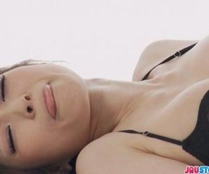 Yuria in bikini fondling herself and masturbating - 8 min