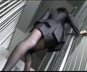 a woman office worker modeling as an amateur model - Juri 1 - 11 min