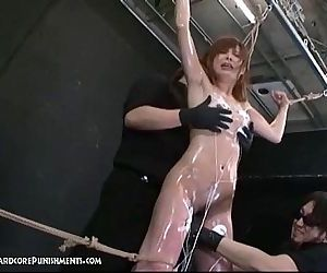 Japanese Bondage Sex - Extreme BDSM Punishment of Ayumi - 5 min
