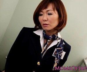 Sayuri Kotose anal solo toy plays on toilet - 8 min HD