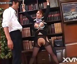 Japanese babe uncensored cabin attendant 26 min