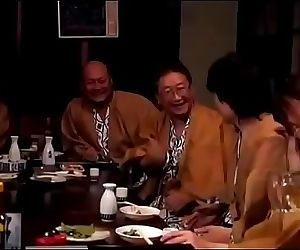 Japanese woman gets forced while her husband drunk 26 min