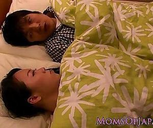 Japanese housewife titfucking her man 8 min HD