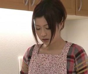 Riko has a dildo dream in her kitchen and uses her toys to cum - 5 min