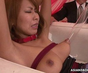Asian babe toy stimulated and pussy vibed - 8 min HD