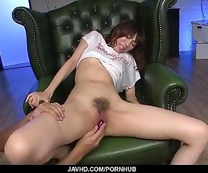 Junna Kogina gets stimulated in perfect manners