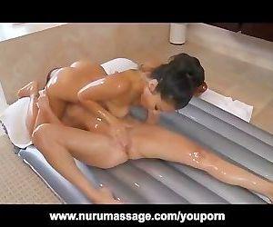 Asa Akria Lesbian Nuru Massage