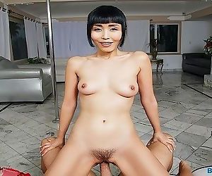 BaDoinkVR.com Japanese Hottie Marica Hase Rides Your Pole