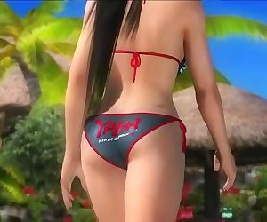 Dead or alive 5 hot girls in tight microbikini thong big ass 3D exposures !