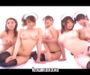 The JAV Diner - Beautiful Girls / Big Tit Cafe PMV