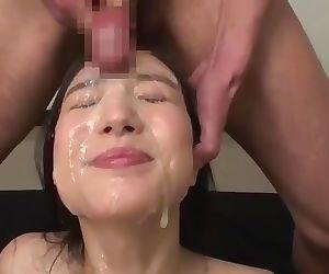 New Release Japanese Bukkake Scene 1
