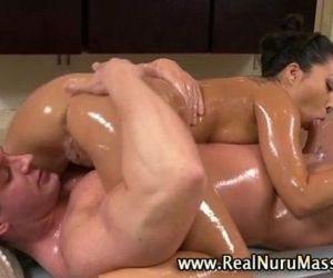 Dirty asian fetish slut gets a cumshot - 5 min