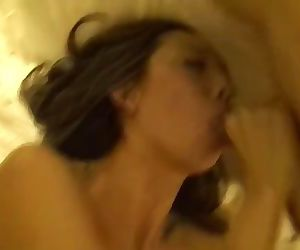 Amateur Asian wife has threesome with two white guys. Hard Anal sex!