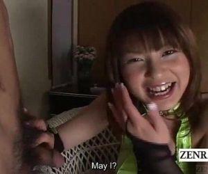 Uncensored Japanese blowjob selection time Subtitled - 3 min