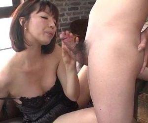 Superb solo by lingerie model Izumi Manaka - 12 min