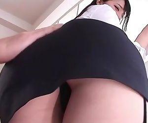 Ai Uehara and her fat ass