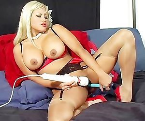 Smoking Hot In Nylons - Scene 1