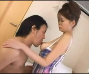 Asian Boob Suck
