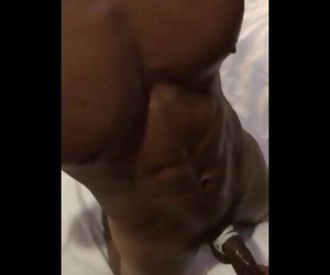 MuscleToy Edged for Hours and sent Home without being Allowed to Cum