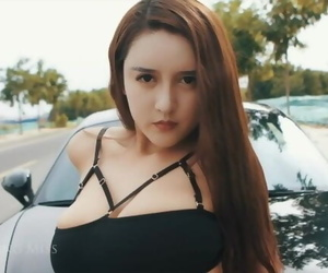 Chinese Model Bai Yi Han 秀人网众筹白一晗写真