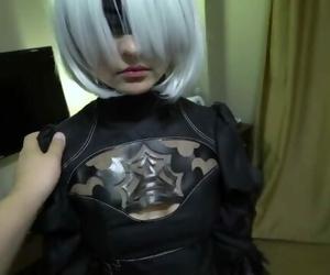 2B Nier Automata Porn Cosplay, Part 1