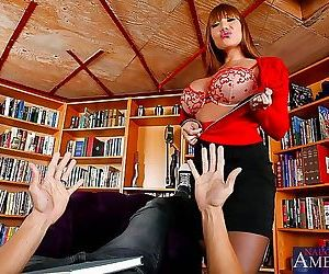 Good looking milf ava devine uses massive jugs - part 4208