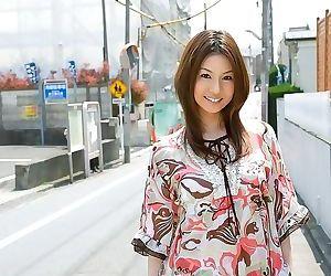 Japanese model showin tatsumi yui ass and hot tits - part..