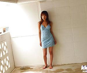 Pretty asian babe Yua Aida exposing her voluptuous curves..