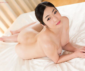 Sweet young Asian performs a sloppy POV handjob and licks..