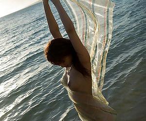 Alluring asian cutie Mari Misaki showcasing her slim body