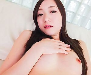 Japanese cutie mao sena sucking a cock till facial - part..